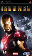 IronMan PSP US cover