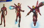 Iron Man IW armor cannons