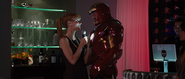 Pepper Potts & Iron Man (Mark IV)