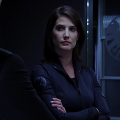 Hill tras reunir a Ward y Coulson.