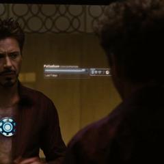 Stark continúa buscando una cura para su envenenamiento.