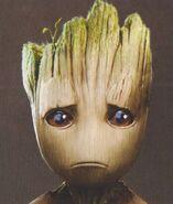 Baby Groot concept art 16