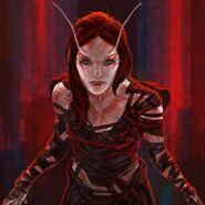 GotGV2 Concept Art Mantis 4