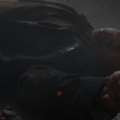 Hogan queda herido tras la explosión de Taggart.