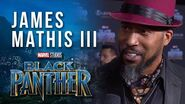 "James Mathis III, Voice of Black Panther on Marvel's ""Avengers Black Panther's Quest"""