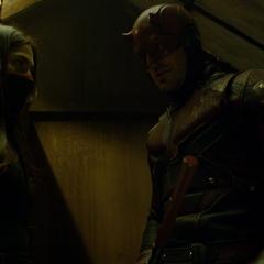 Murdock hace una promesa con Elektra.