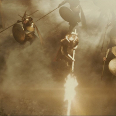 Bor dirige a los Asgardianos en Svartalfheim.