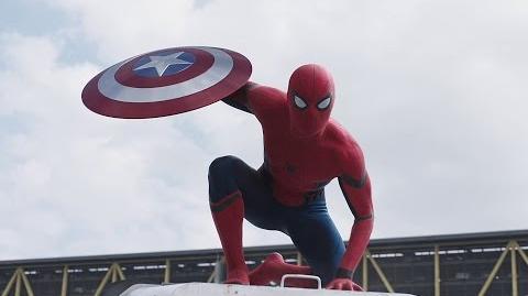 CAPITÁN AMÉRICA CIVIL WAR Tráiler con Spider-Man (doblaje español latino)
