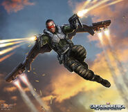Captain America The Winter Soldier 2014 concept art 35