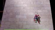 Spider-Man scaling Washington Monument (JW BTS)