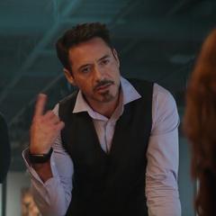 Stark sorprendido de recibir el apoyo de Romanoff.