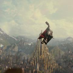 Thor se dirige a las mazmorras.