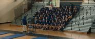 Wilson's Sophomore P.E Class