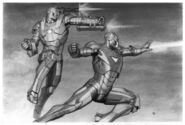 Iron Man 2 2010 concept art 7