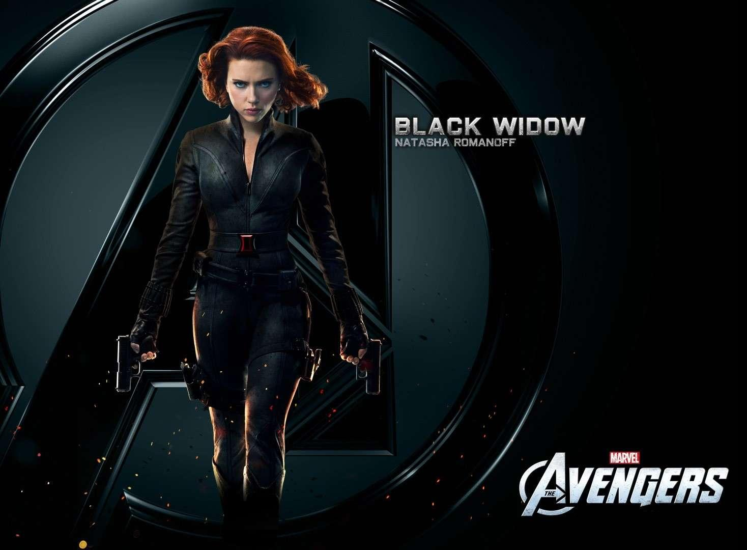 Black Widow The Avengers Wallpaper