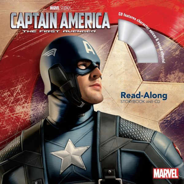 Captain America: The First Avenger Read-Along Storybook and