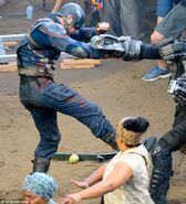 Civil War set photo 2
