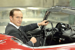 Coulson waiting for Syke
