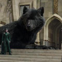Hela y Fenris amenazan a los Asgardianos.