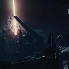 Jotunheim es devastado a causa de la energía del Bifrost.