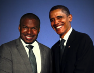 Raymond Jones and Barack Obama