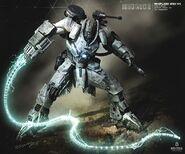Whiplash Armor Mark II Concept Art 2