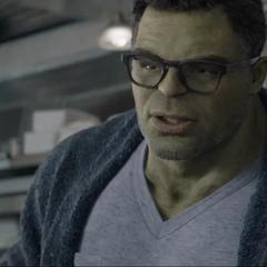 Banner explica como se fusionó a sí mismo y a Hulk.