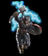 Captain America - Endgame Mjolnir Fathead