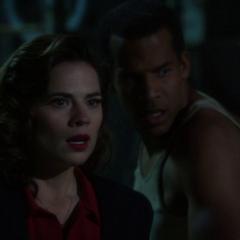 Carter ve a Jarvis atropellar a Cully.