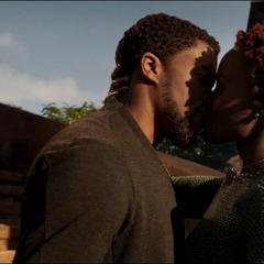 T'Challa y Nakia reestablecen su relación.