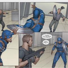 Rogers comienza su lucha contra los hombres de Baker.