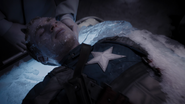 Frozen Captain America