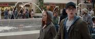 Natasha & Steve at the Mall