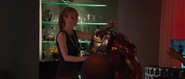 Pepper Potts & Iron Man