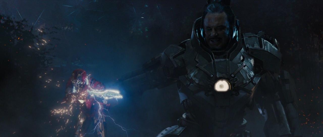 "Marvel Iron Man 2 Ivan /""WHIPLASH/"" Vanko AF IM2 20"