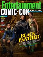 Black Panther EW cover