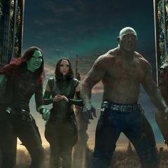 Gamora y los Guardianes buscan a Quill.
