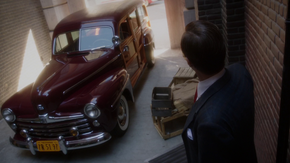 Howard Stark's Woody Station Wagon