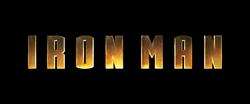 Iron Man Título Logo