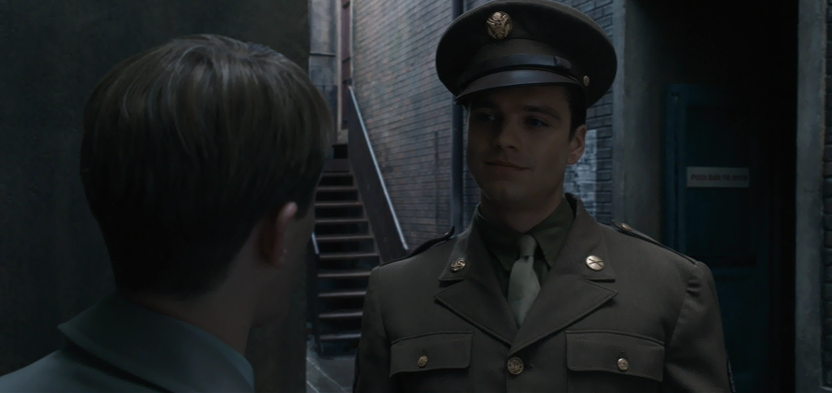 Bucky being young and in love