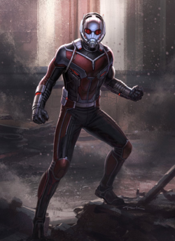 Civil War - Art Ant-Man