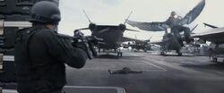 FalconShootsHYDRAGuard-Helicarrier