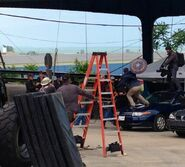 Film set pic Captain America 2 01