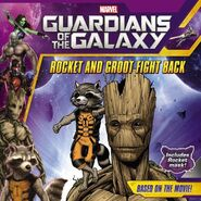 GOTG Rocket and Groot Fight Back