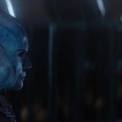 La Nebula de 2023 se asocia con la Gamora de 2014.