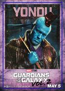 Yondu GOTG2 Poster