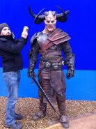 Horned Marauder BTS