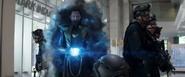 Loki uses the Tesseract
