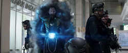 Loki uses the Tesseract