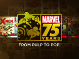 Marvel 75 Years: From Pulp to Pop